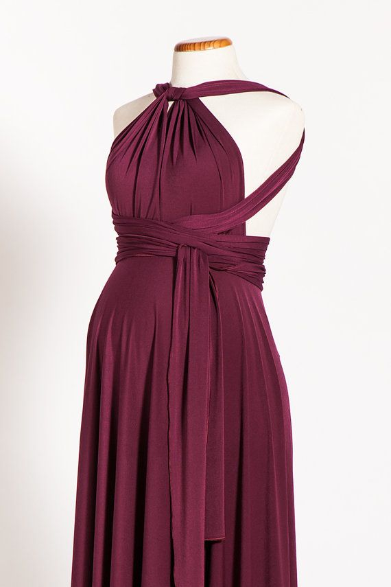 Hey, I found this really awesome Etsy listing at https://www.etsy.com/listing/179535351/marsala-maternity-infinity-dress-long