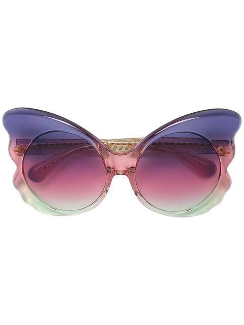 Linda Farrow Oversized Sunglasses - Farfetch