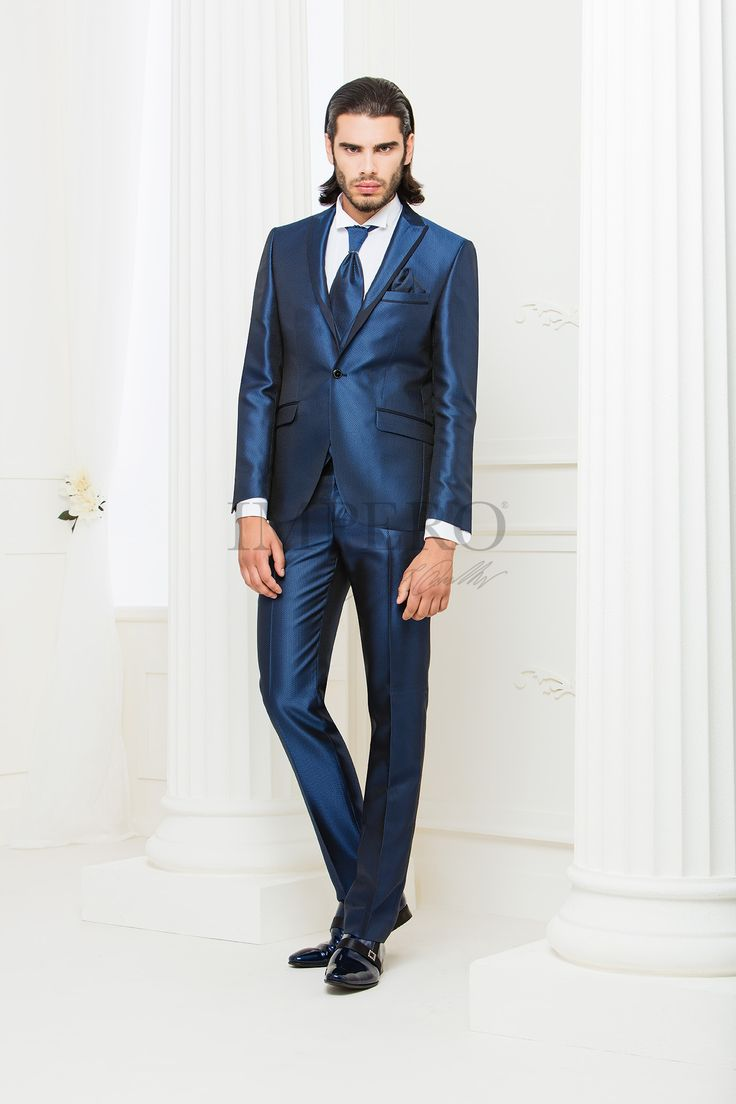 NO 4217SLA-16  #sposo #groom #suit #abito #wedding #matrimonio #nozze #blu #blue