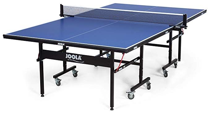 Amazon Com Joola Inside Professional Mdf Indoor Table Tennis Table With Quick Clamp Ping Pong Net And Post S Best Ping Pong Table Ping Pong Table Ping Pong