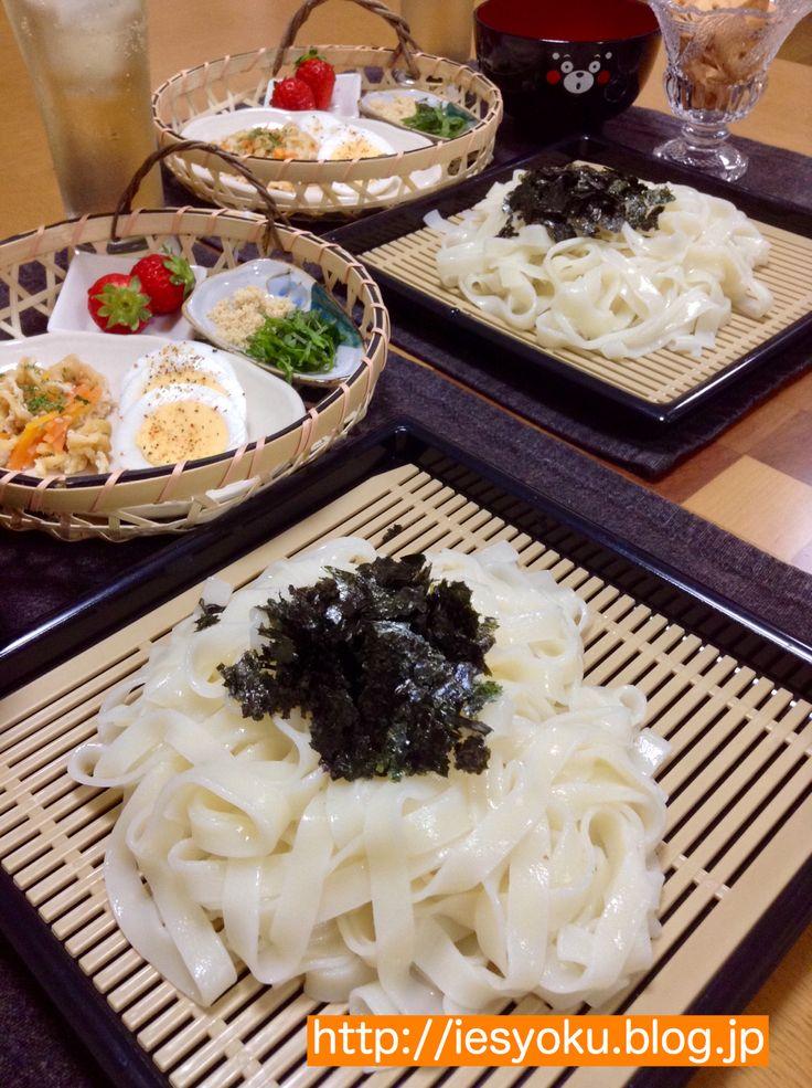 2015/03/22 夕食 ざるきしめん