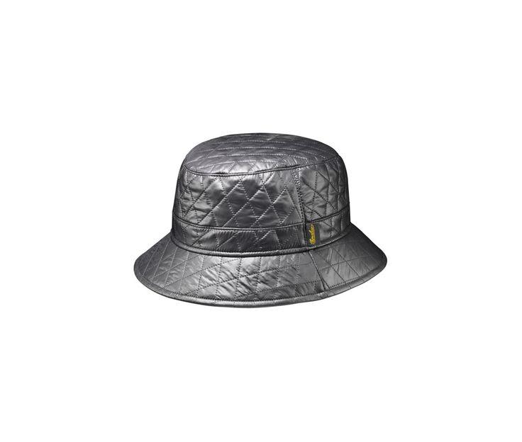 Waterproof hat. Product code: B32084T. Shop it here: http://shop.borsalino.com/en/mans-collection/fall/winter/waterproof-hats-and-caps/metalasse-bucket-hat.
