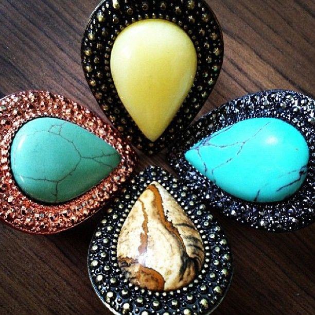 SAMANTHA WILLS - Bohemian Bardot Rings;  Jewellery Statement Rings Jewelry Colour Bohemian