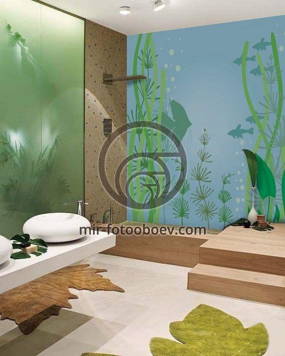 Фотопанели - идеальное решение для дизайна ванной комнаты.