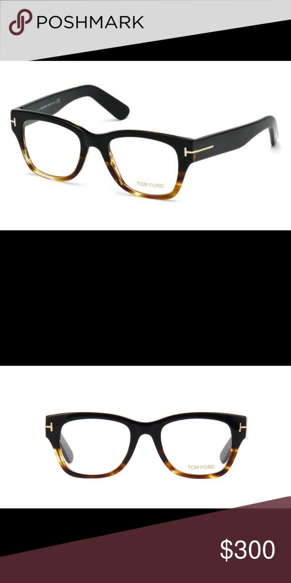 NWOT Tom Ford Frames Brand New never used Tom Ford frames. Come with Tom Ford Case and Cloth. Black and Tortoise. Frames do not come with demo lenses Tom Ford Accessories Sunglasses