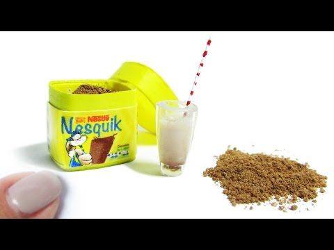 Miniature Nesquik DIY kakao! - YouTube