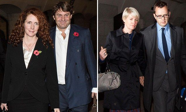 Phone hacking jury told Rebekah Brooks and husband moved evidence