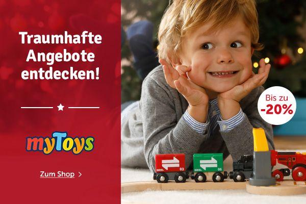 myToys 10% Neukunden Gutschein Nov 2016