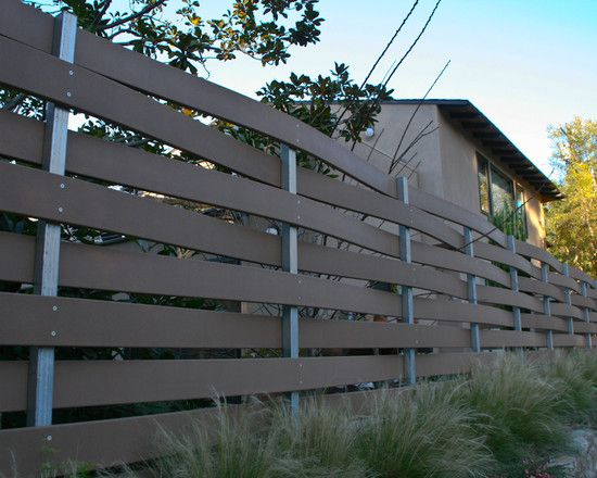 +woven +wood +slat +fence Design, Pictures, Remodel, Decor and Ideas