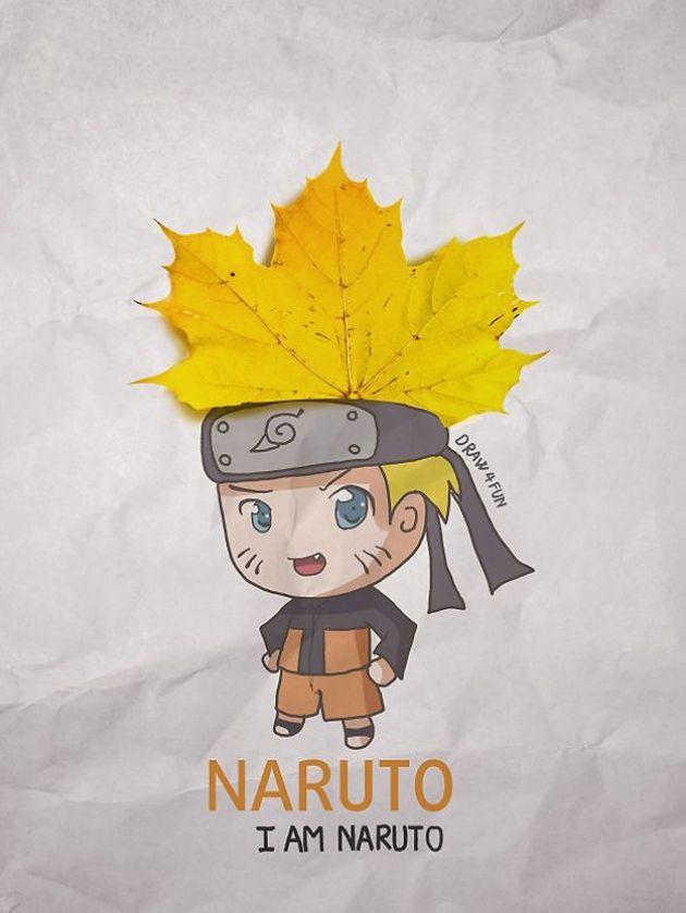 """Un vietnamita rediseñó a los personajes de Naruto con un toque """"cotidiano"""" (+fotos)"""