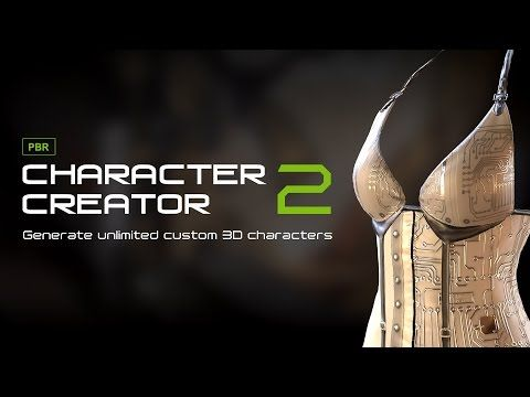 Character Creator 2 Features - Physically Based Rendering - YouTube