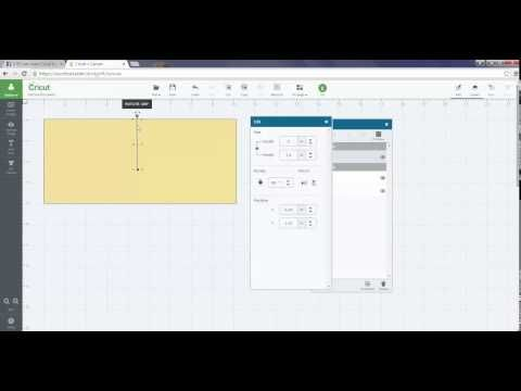 How to Use the Score Line in Cricut Design Space - YouTube