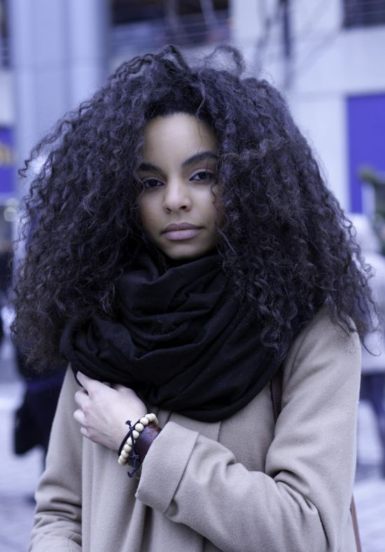 This is similar to my hair natural hair texture...more wave than curl. hair length inspiration!
