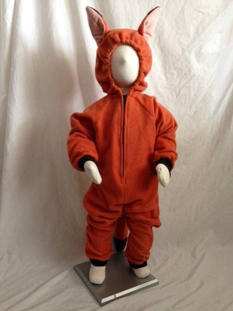 Pin for Later: Disney Zootopia Halloween Costumes Your Kids Are Going to Love Child's Orange Fox Costume Child's Orange Fox Costume ($55)
