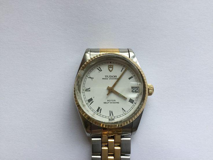 Vintage Rolex Tudor Prince Oysterdate Automatic Bi Metal Mans Bracelet Watch Ref    eBay