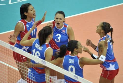 Puerto Rico gana 25-20 el segundo parcial del partido de la...