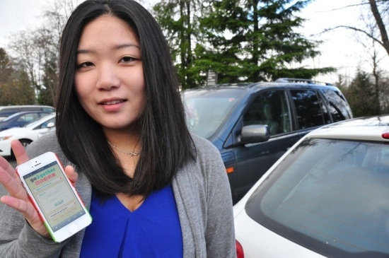 Alice Park's company, go2gether, has developed a web application for real-time ridesharing that will be piloted at SFU this semester.