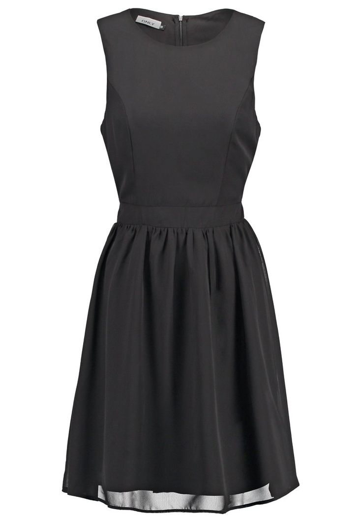 ONLY ONLDARA - Cocktailjurk - black - Zalando.nl
