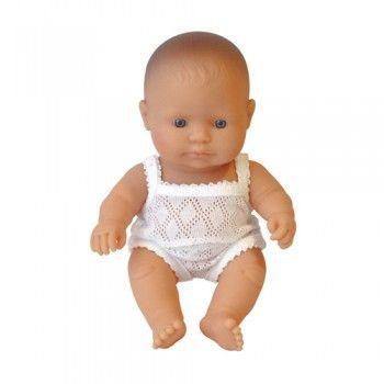 Miniland - Anatomically Correct Baby Doll - Caucasian Girl