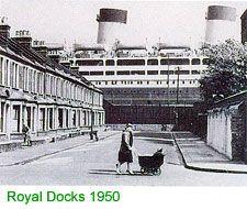 The Roylal Docks 1950