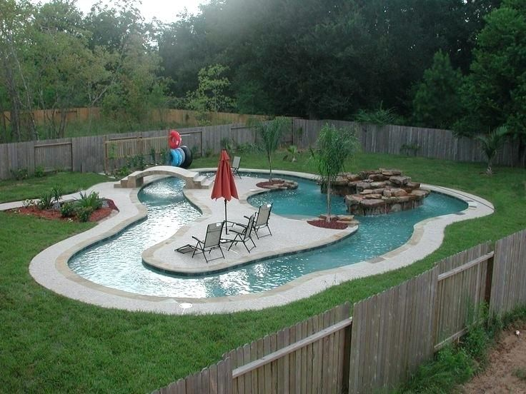 Hay Bale Swimming Pool Standard Backyard Swimming Pool ...