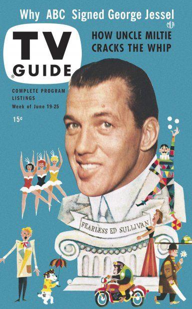 TV Guide, June 19, 1953 - Ed Sullivan