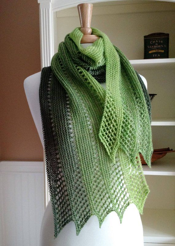1cf9fe3392595 Mistral Scarf knitting pattern from the Summer in France Collection by  Lavender Hill Knits Checkout my blog post for information on the yarn I  used for the ...