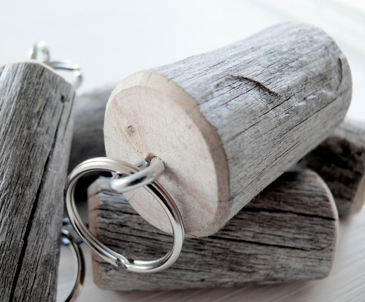 Porte-clé bois