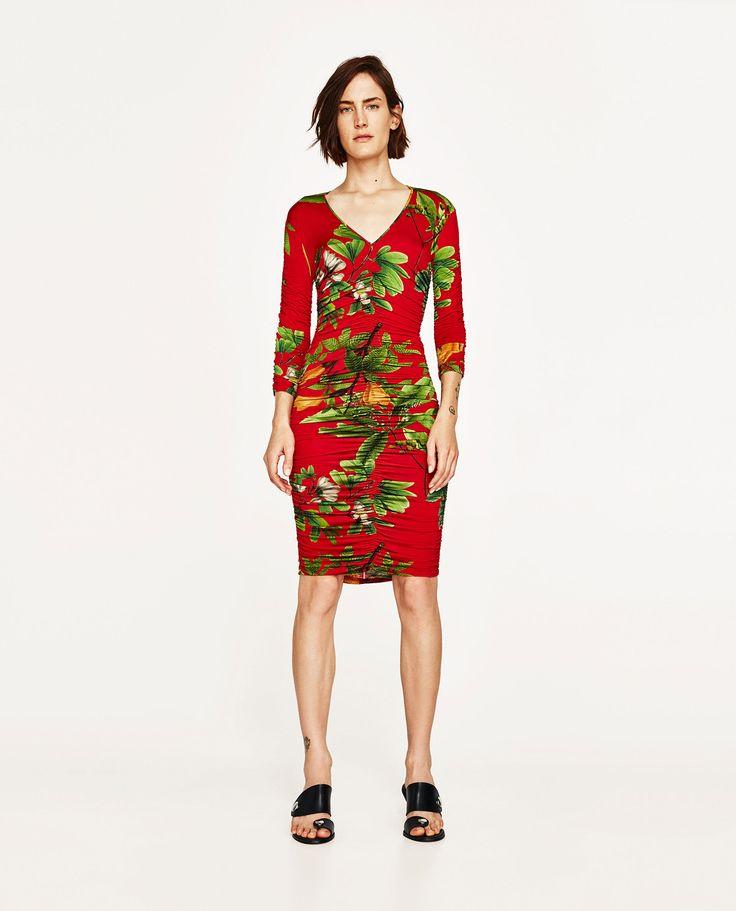 Image 1 of GERARTS DRESS WITH TROPENPRINT by Zara