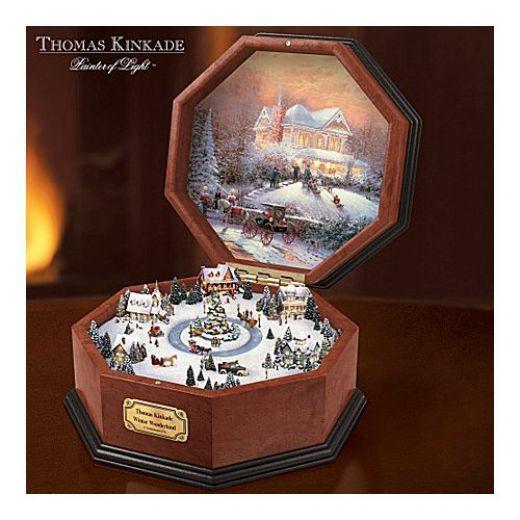 Thomas Kinkade Winter Music Box                                                                                                                                                                                 More