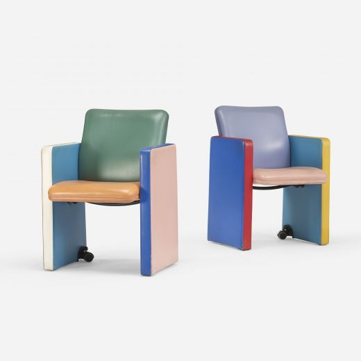 Tito Agnoli Lounge Chairs for Poltrona Frau 1987