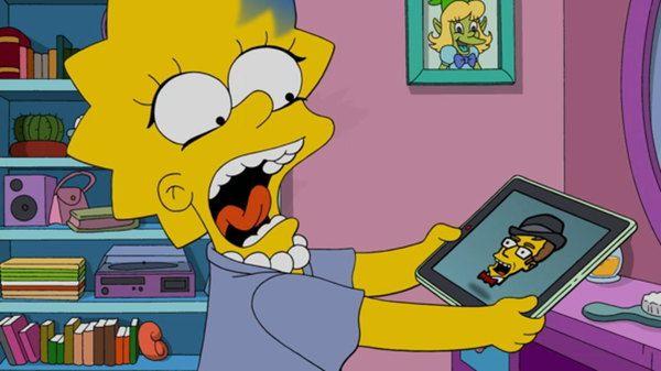 Buchcover: Lisa von den Simpsons