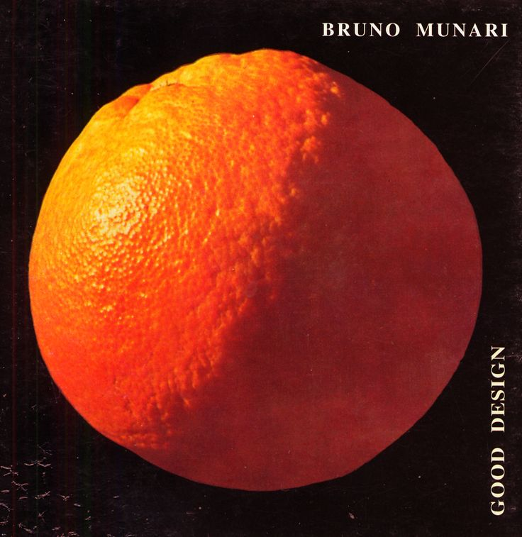 Bruno Munari, Good Design, 1963