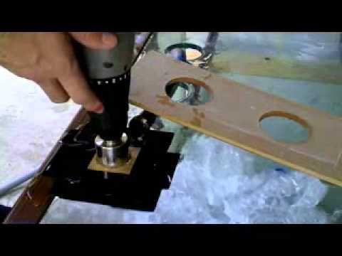 Drilling glass holes in 100 gallon aquarium
