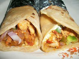 YUMMY TUMMY: Chicken Kathi Rolls