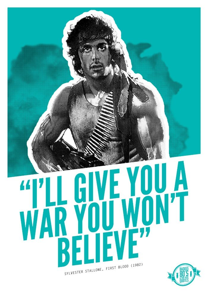 Best Action Movie Quotes: Top 25 Ideas About 80s Quotes On Pinterest