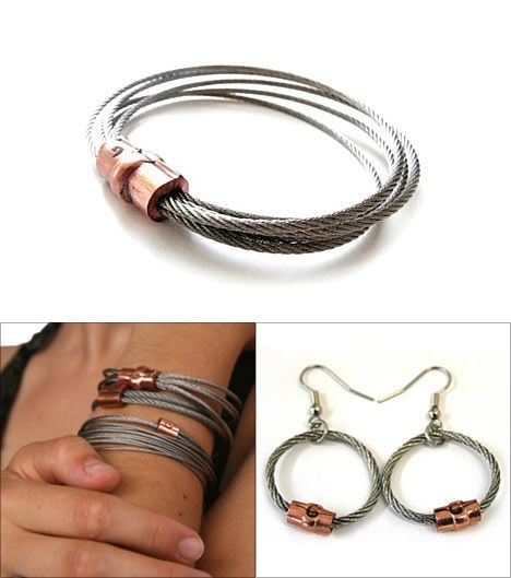 Guywire Jewelry; i like the bracelets