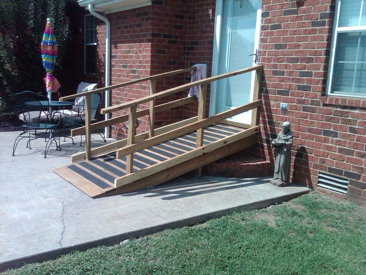 Ramp Designs For Wheelchair To Get Into House