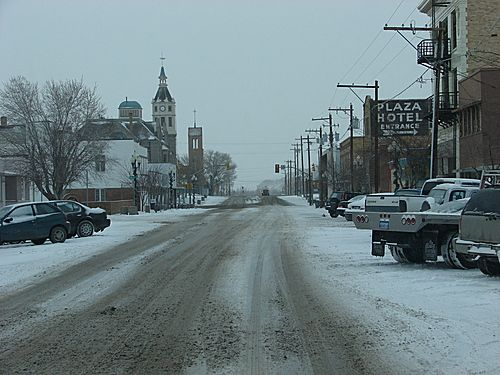Rock Springs Wyoming.  Sat out a blizzard here while on a cross country trip.