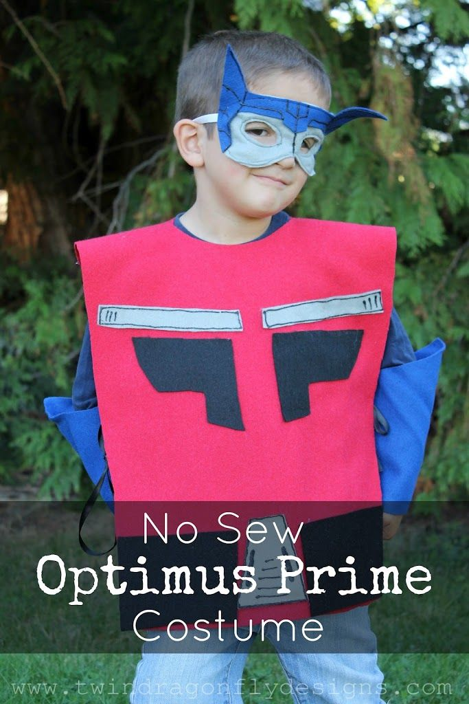 You may have seen my Super Hero Costume tutorial from earlier this week. I had a special request for an Optimus Prime costume too.And optimus being a transformer and not technically a super hero, I thought that he deserved his own post. Follow the same instructions as for my basicSuper Hero Costumes. You can find …