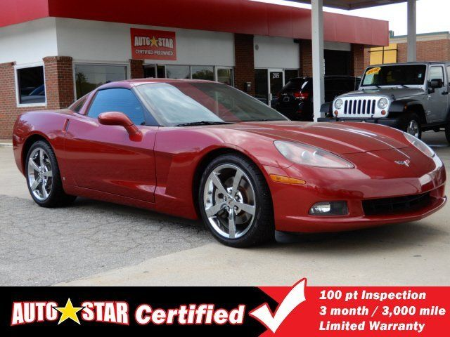 Used 2008 Chevrolet Corvette Coupe Coupe for sale near you in ASHEVILLE, NC. Get more information and car pricing for this vehicle on Autotrader.