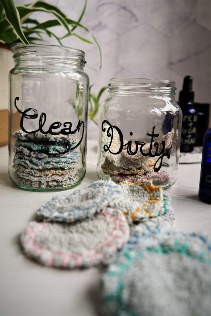 Reusable Cotton Pads Zero Waste DIY Tutorial The