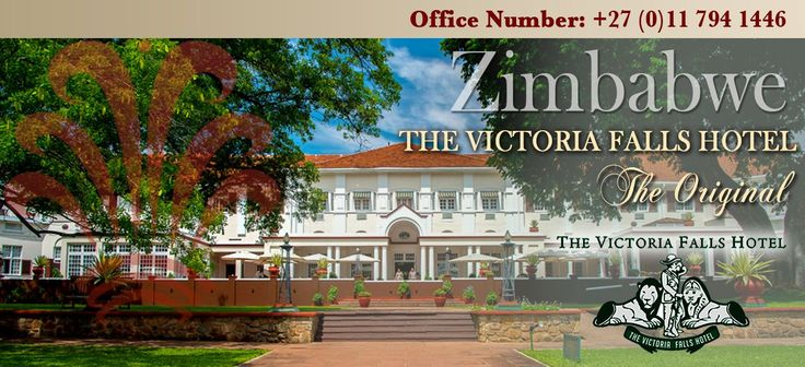 On our next trip to Zimbabwe, we will stay at the Victoria Falls Hotel for two nights.