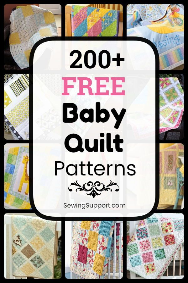 260+ Free Baby Quilt Patterns | Free