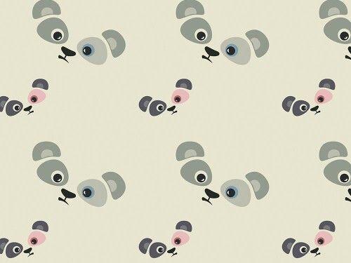 """Grafika z katalogu """" Dla dzieci"""" - Panda 4 http://cottonbee.pl/tkaniny/dla-dzieci/5813-panda-4.html"""