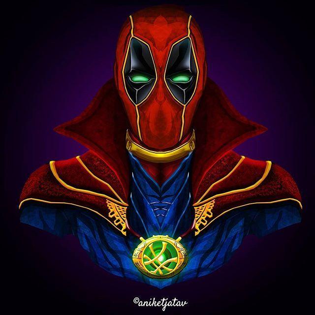 8/365 : Deadpool Series Artwork : 8 - Dr. Pool  Dr. Strange x Deadpool. This is my favourite one till yet  . Full brightness preferred. Zoom in for details ☀️ ➖➖➖➖➖➖➖➖➖➖➖➖➖➖➖➖➖ #art #artist #avengersinfinitywar #digitalart #sketch #dc #dceu #captainamerica #ironman #infinitywar #deadpool #spiderman #blackpanther #cable #comics #instagram #instalike #instagood #instafollow #instart #artist #followforfollow #like4like #like #follow #xmen #wolverine #punisher #deadpool2 #marvelcomics