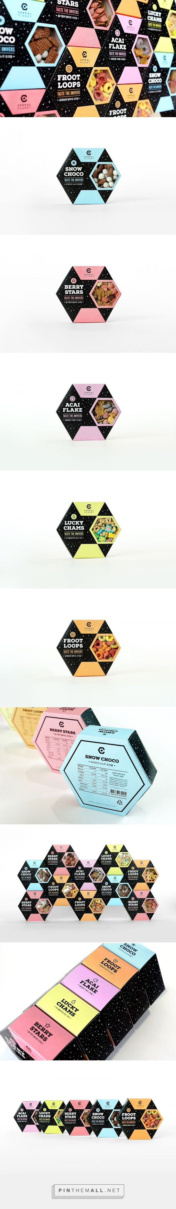 Cereal Planet packaging design by Mihyun Sim - http://www.packagingoftheworld.com/2016/12/cereal-planet.html