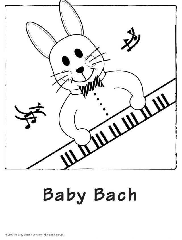 Baby Einstein Coloring Pages Coloring Pages For Kids