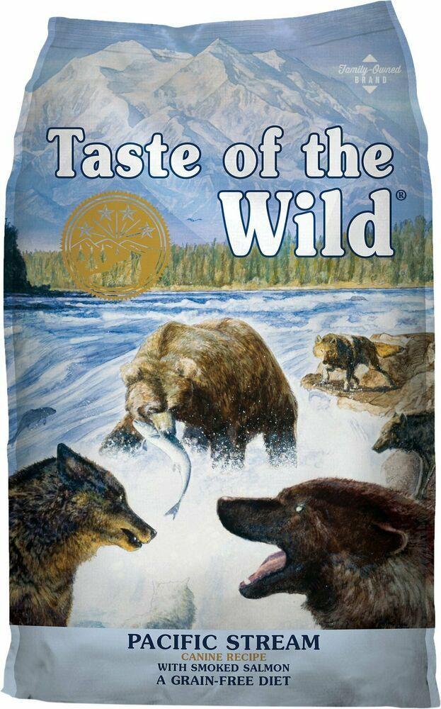 Taste Of The Wild Pacific Stream Grain Free Dry Dog Food Taste