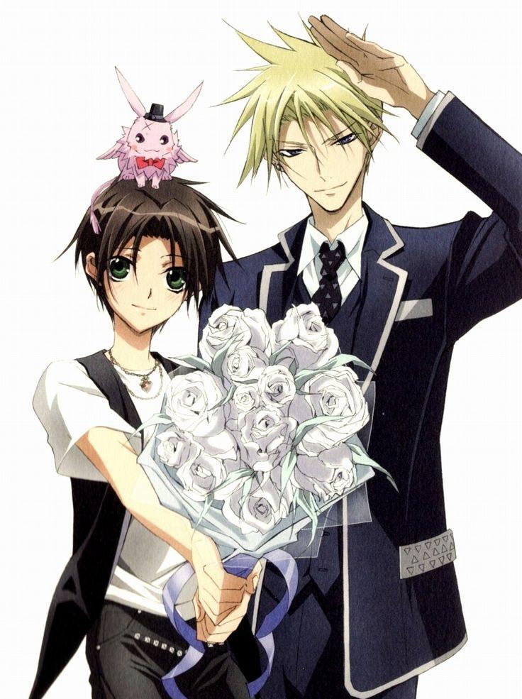 07 Ghost Teito, Mikage & Frau Favorite anime shows